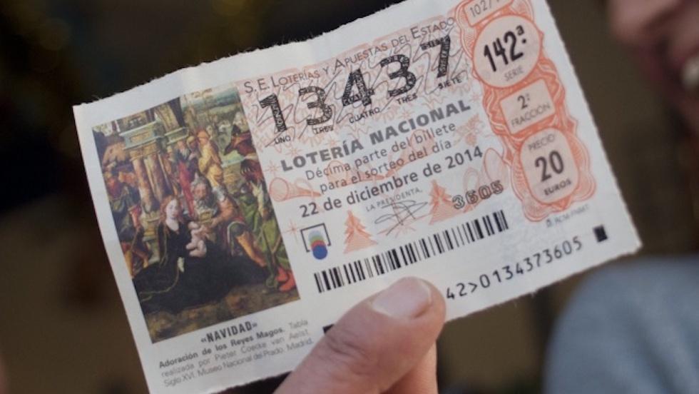 Loteros ¿problemas con la devolución de Lotería de Navidad?